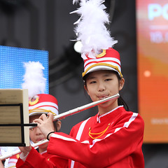 IMGL4105 (taticoma) Tags: brassband brass music musician child china red school teenage girl girls flute flutist