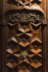 door (charlesgyoung) Tags: barcelonacathedral barcelona spain charlesyoung church travelphotography nikon nikonphotography nikondx