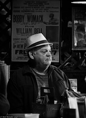 Hunting Wabbits. (Neil. Moralee) Tags: neilmoralee usa2017neilmoralee candid street portrait city neil moralee nikon bandw blackandwhite face photography contrast man monochrome monotone mono bw urban life people gritty faces strangers d7200 old mature hat bar tennessee usa memphis highiso