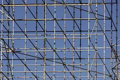Kunst am Bau (ARTUS8) Tags: flickr geometrisch linien gerüst scaffold lines
