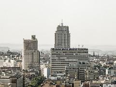 ... Princesa ... (Lanpernas .) Tags: madrid princesa skyline city urbannite arquitectura spain