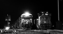 Out of Crews (Jackson Vandeventer) Tags: train track railroad railfan sd70m up unionpacific c408w ns norfolksouthern villagrove villagrovesubdivision panasubdivision photography power stlouisserviceunit masch manifest mixedfreight zmxycx northbound
