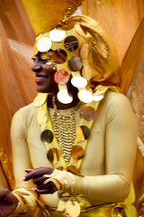 DSC_7213 Notting Hill Caribbean Carnival London Exotic Colourful Gold Costume Girls Dancing Showgirl Performers Aug 27 2018 Stunning Lady (photographer695) Tags: notting hill caribbean carnival london exotic colourful costume girls dancing showgirl performers aug 27 2018 stunning ladies gold lady