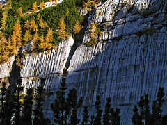 High mountain karst (Vid Pogacnik) Tags: italia italy julianalps autumn outdoors hiking landscape mountain karst limestone geology slabs erosion