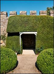 Thornbury Castle (Mark Greening) Tags: garden thornbury thornburycastle wall