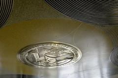 Frank Lloyd Wright Medallion Guggenheim Museum New York City (Barbara Brundage) Tags: frank lloyd wright medallion guggenheim museum new york city