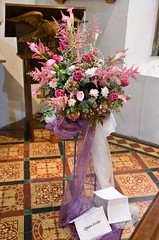 Queen Esther 0924 (blackthorne57) Tags: bovinger bobbingworth essex stgermainschurch church athome churchfete floraldisplay bankholidaymonday queenesther flowers flowerarrangement