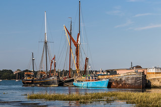 Barges at Pin Mill-6254