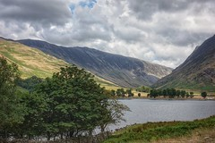 View over Buttermere, Cumbria (michaelsdambach@btinternet.com) Tags: buttermere cumbria trees summer water
