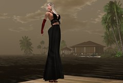 DE.Boutique MaxMara Dress Black Lace 11a (Becky Kenaan) Tags: firestorm secondlife de boutique swank