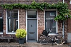 Dutch cliché (Aymeric Gouin) Tags: holland paysbas netherlands nederland zelande zeeland middelburg middelbourg city ville street rue bike bicycle door porte architecture window nature travel voyage fujifilm xt2 aymgo aymericgouin