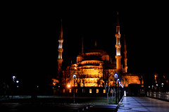 The Blue Mosque At Night (itchypaws) Tags: sultan ahmed ahmet mosque camii blue 2018 istanbul turkey europe holiday vacation