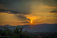 goodbye the sun (harakis picture) Tags: sunset mountain nice france paca sony a7 landscape contactgroups greatphotographers extraordinarilyimpressive greatshotss