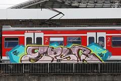 EPSC (rebecca2909) Tags: köln cologne deutschebahn db trains train graffiti graff epsc