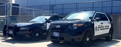 Polk City Police Dodge Charger and Ford Interceptor Utility (Caleb O.) Tags: polkcity police charger utility