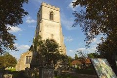 St Margarets @ Chippenham (Cambs) (Adam Swaine) Tags: church churchyard churchtower rural ruralvillages ruralchurches cambsvillages cambs england english englishvillages uk ukcounties ukvillages britain beautiful british eastanglia clocktower counties countryside