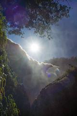 Elephant falls (kuuan) Tags: voigtländerheliarf4515mm manualfocus mf voigtländer15mm aspherical f4515mm superwideheliar apsc sonynex5n elephantfalls nambinh dalat vietnam thatvoi mist contrejour sun landscape waterfall nature flare lensflare