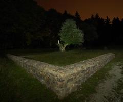 PGH52677 (klangcharakter) Tags: nacht night römer römerkastell kastell historisch taunus feldberg kleinerfeldberg mauer hessen panasonic mft lumix gh5 laowa 75mm f20 ultraweitwinkel iso500 30sek