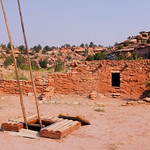 Kiva Entrance and Pueblo on Kelly Place Grounds thumbnail