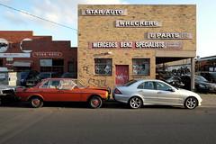 Benz Parts (martyr_67) Tags: mercedes benz huntingdale car parts