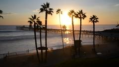 San Clemente Pier Palm Trees September Sunset Video HD Fine Art San Clemente Pier California! (45SURF Hero's Odyssey Mythology Landscapes & Godde) Tags: san clemente pier september sunset video hd fine art california