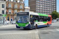 27873 GX13AOT (PD3.) Tags: adl enviro 300 27873 gx13aot gx13 aot bus buses psv pcv hampshire hants england uk portsmouth stagecoach interchange station hard gunwharf quays