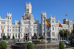 Plaza de Cibeles (Madrid, Spain) (NataThe3) Tags: plazadecibeles architecture building madrid spain