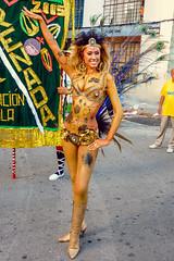 2010-02-06 Desfile de Llamadas en Montevideo (06) - Giannina Silva war 2007 Miss Uruguay und Miss Latin America. Waehrend des Karnevals fungiert sie als 'Vedette' (eine Art Primaballerina) der Candombe-Gruppe 'C 1080', die von ihrem Grossvater gegruendet (mike.bulter) Tags: vedette misslatinamerica misslateinamerika missuruguay karneval carnival umzug parade karnevalsumzug desfiledellamadas frau gianninasilva menschen montevideo people southamerica suedamerika uruguay woman barriosur ury carnaval