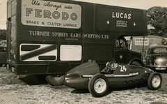 Turner Sports Cars Ltd Transporter (British Motor Industry Heritage Trust Archive) Tags: bmiht britishmotormuseum lucascollection lucas history vintage archive