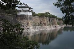 Osaka Castle (eyawlk60) Tags: osaka castle osakacastle beautiful japan flickraward