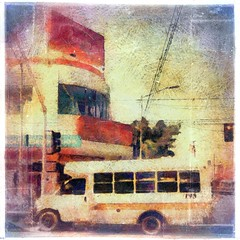 < Dynamic Tijuana ... Tienes que vivirla > (Wandering Dom) Tags: tijuana mexico zona norte urban buildings bus city tiempo time life vida humans people pueblo dynamis being nothingness reality dream earth multiverse roam wandering