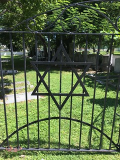 Gate To Jewish Section Miami City Cemetery