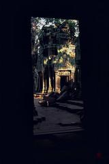 Through the Door - Ta Prom - Cambodia (jefffountain) Tags: angkorwat cambodia khmer angkor ruins temple stone doorway masonry stonework tourism