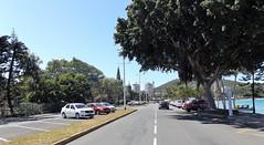 Le boulevard devant l'Anse Vata (patrick.andries) Tags: boulevard frontdemer avenue anse vata voitures arbres pelouse