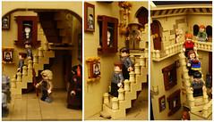 Lego Hogwarts Staircase 2 (SEBASTIAN-Z) Tags: lego harry potter hogwarts minifigs moc