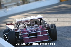 LOMS-Orange-014 (PacificFreelanceMotorsports) Tags: loms speedway racing modifieds lucasoil