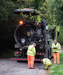 365-2018-263 - Clearing the drains (adriandwalmsley) Tags: comptonstreet drainage