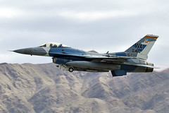 85-1418 (Rich Snyder--Jetarazzi Photography) Tags: usairforce usaf airforce aircombatcommand acc generaldynamics f16 f16c fightingfalcon 851418 64thagrs 57thatg wa takeoff departure departing nellisafb lsv klsv lasvegas nevada nv airplane aircraft jet plane fighter aggressor viper redflag181
