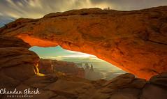 Mesa Arch @Sunrise (Chandan Ghosh Photography) Tags: mesaarch sunrise mesaarchsunrise canyonland utah