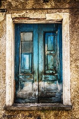 Window (Domenico Davoli) Tags: window blue vintage old saturation ruin wall wood