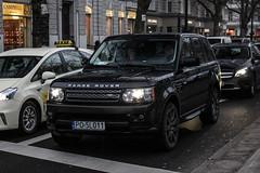 Poland (Poznan) - Land Rover Range Rover Sport (PrincepsLS) Tags: poland polish license plate po poznan germany berlin spotting land rover range sport