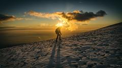 Mont Ventoux 108 (jazz Ferry) Tags: jazzfotograff jasonferry canoneos canon5dmark3 canon5dmarkiii canon french photoofyourday flickr landscape montventoux provence paca brando randonnée hike hiking nature outdoor montagne mountain sunset sunlight silhouette selfie selfshot