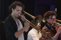 Op Sa! (2018) 07 (KM's Live Music shots) Tags: worldmusic greatbritain balkanmusic brassband opsa trombone meltdownfestival fridaytonic southbankcentre
