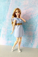 Breezy summer (doll_enthusiast) Tags: barbie mattel made to move mtm curvy teresa neysa sculpt strawberry blonde dolls collecting fashion doll photography