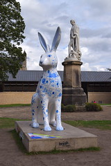 Sally (Simon_K) Tags: norwich hare gogohares norfolk eastanglia normalfornorfolk norwichsculpturetrail 2018