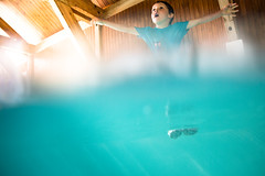 Swimming pool fun (Zeeyolq Photography) Tags: underwater child happy swimmingpool swimming water plouf sport jumping dive diving boy playing