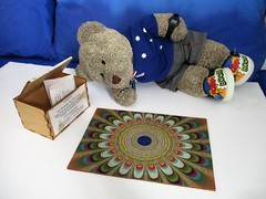 Pritty patterns (pefkosmad) Tags: jigsaw puzzle hobby pastime leisure wood wooden plywood fractals complete unopened sealed secondhand tedricstudmuffin teddy ted bear animal toy cute cuddly stuffed soft plush fluffy robertlongstaff lasercut