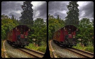 Departure 3-D / CrossEye / Stereoscopy / HDRaw