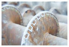Augerific (leo.roos) Tags: drillingrig augerfoundationpiledrillrig auger drill boor rust roest building construction a7 lomographydiana110mmsofttelephoto diana1108 darosa leoroos lomography plasticlens nikonf