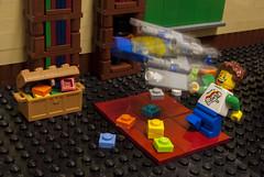 Swwwooosshhh!! (Ben Cossy) Tags: spaceship moc afol tfol lego play